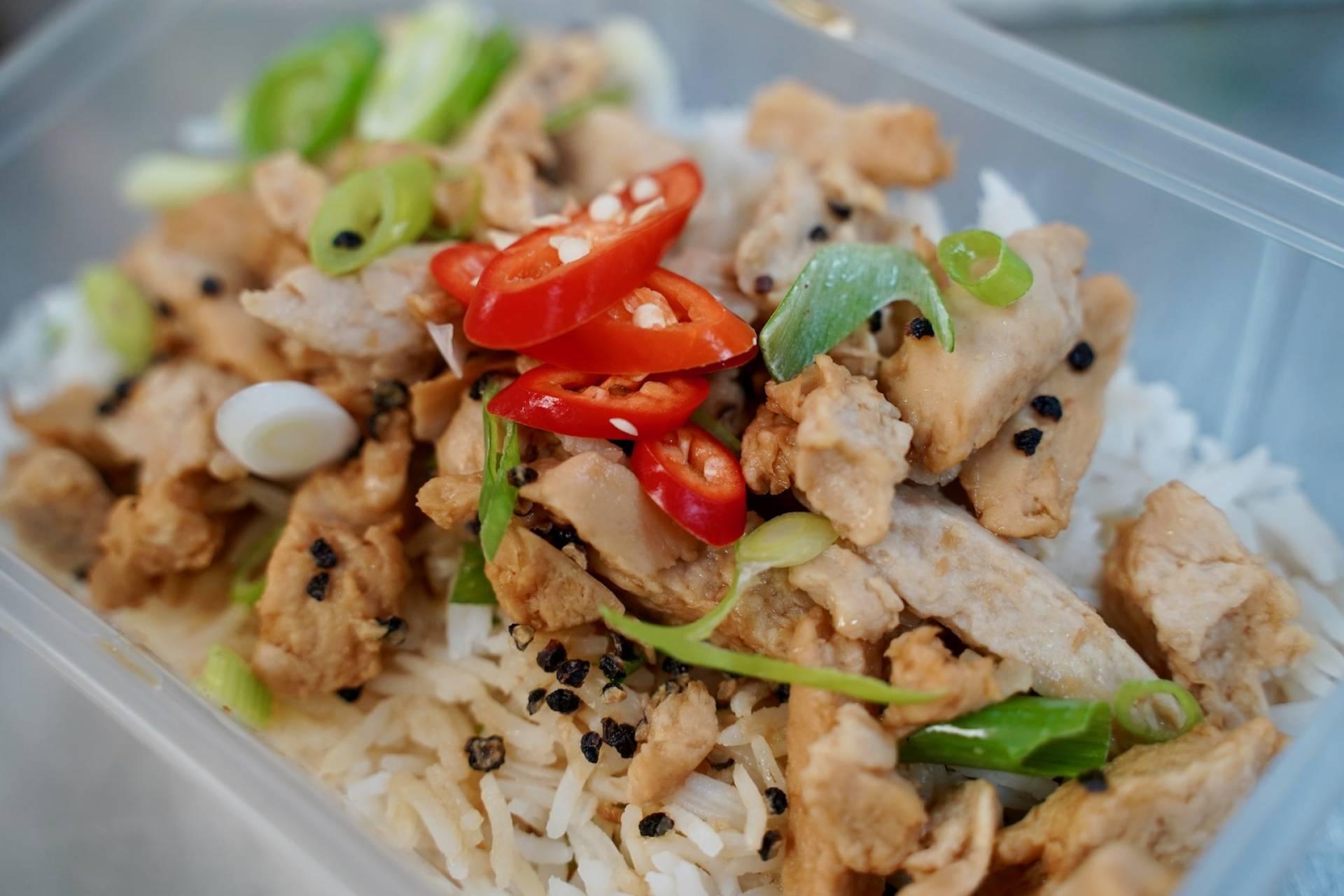 Vegan Adobo with Thai Rice