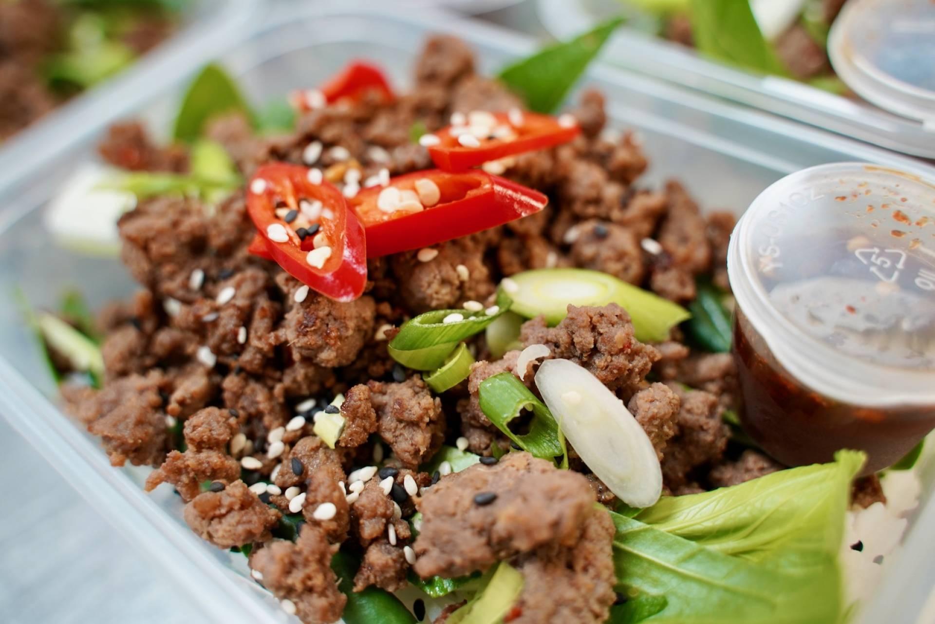 Crispy Asian Beef