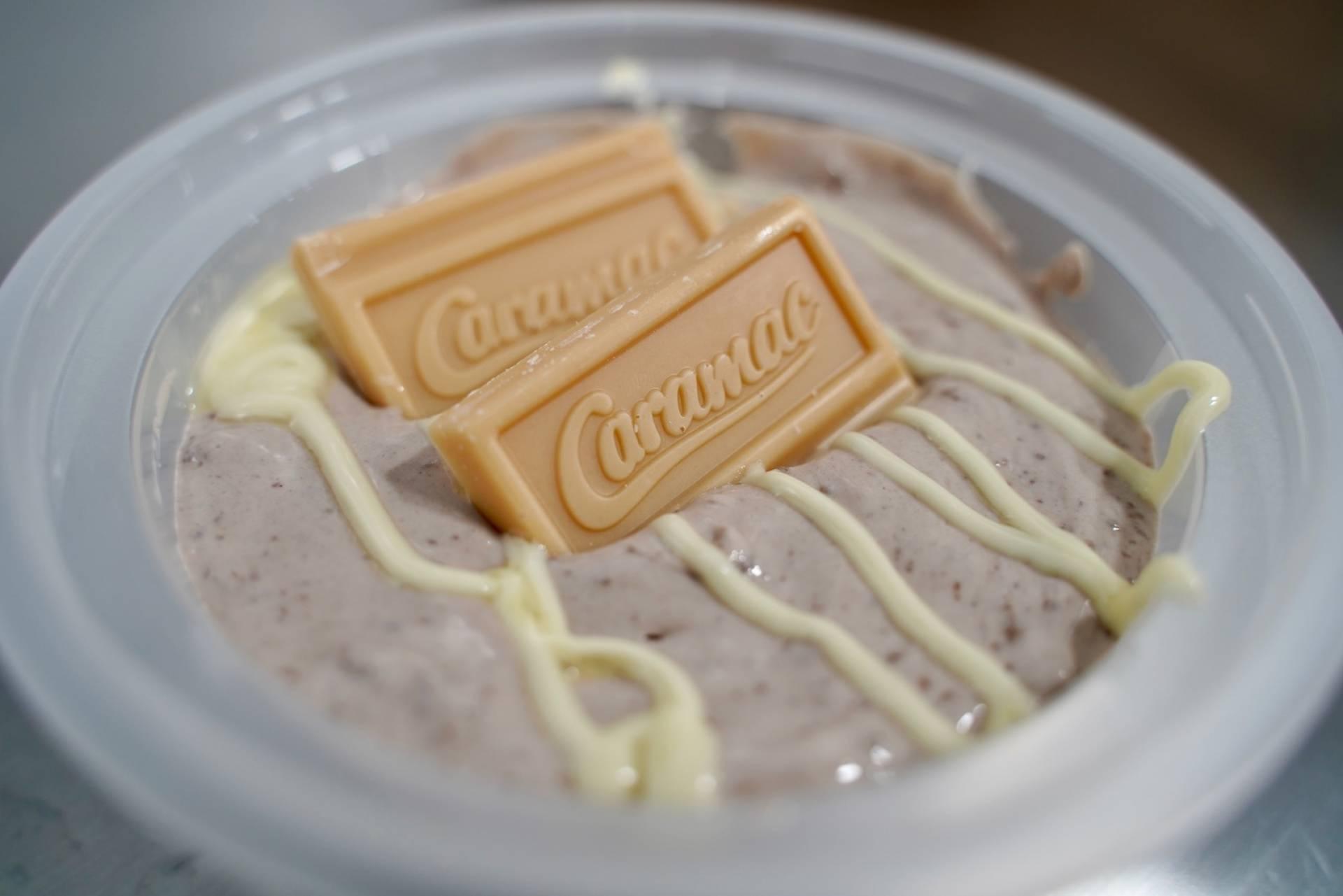 Caramac Protein Cheesecake