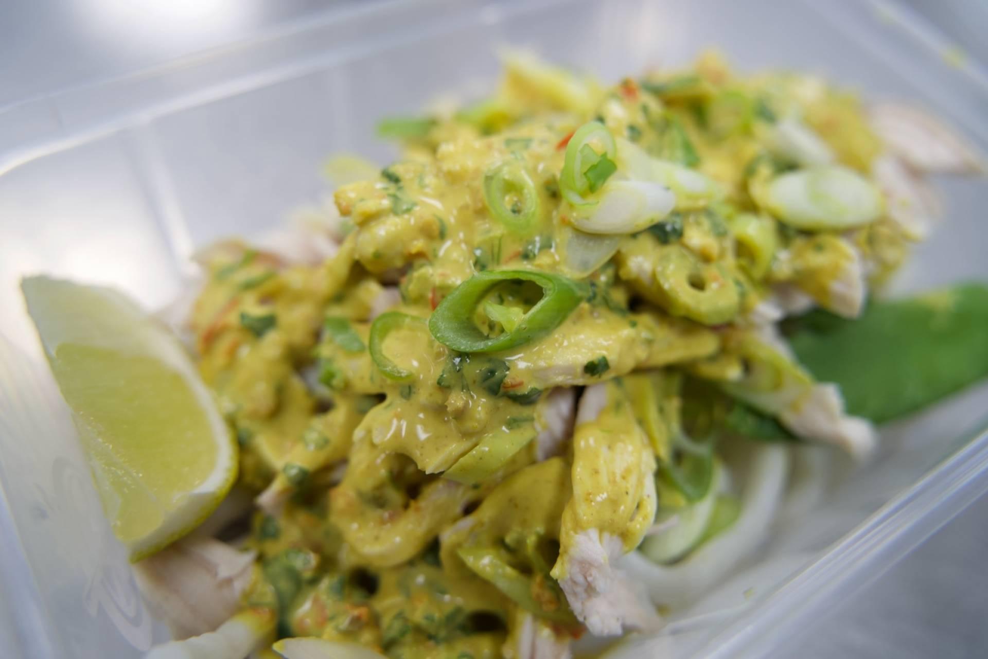 Spicy Peanut Chicken with Thai Rice